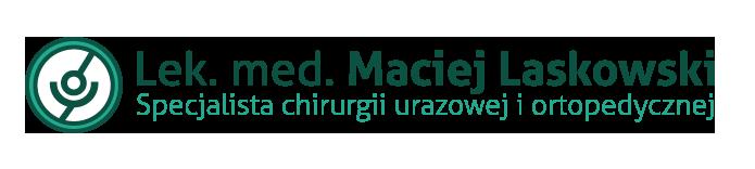 Lekarz Ortopeda Maciej Laskowski